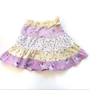 Toddler 2 Skirt with Tiered Ruffles George